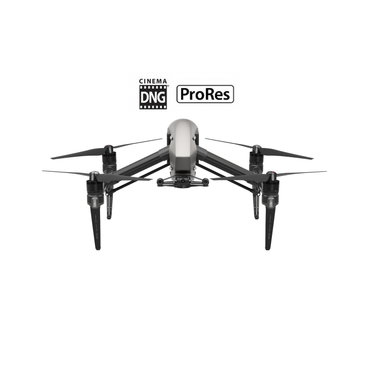 DJI Inspire 2 + Licencje CinemaDNG & Apple ProRes