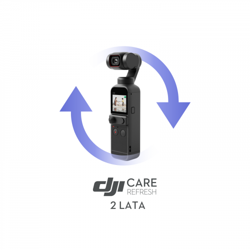 Kod DJI Care Refresh Plan dwuletni - DJI Pocket 2