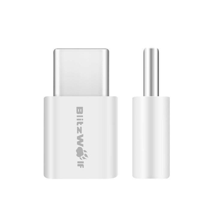 Adapter USB-C do Micro USB BlitzWolf BW-A2 (2 sztuki)