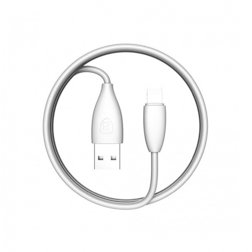 Kabel Lightning USB 2.0 Baseus Small Pretty Waist 1,2m 2A biały