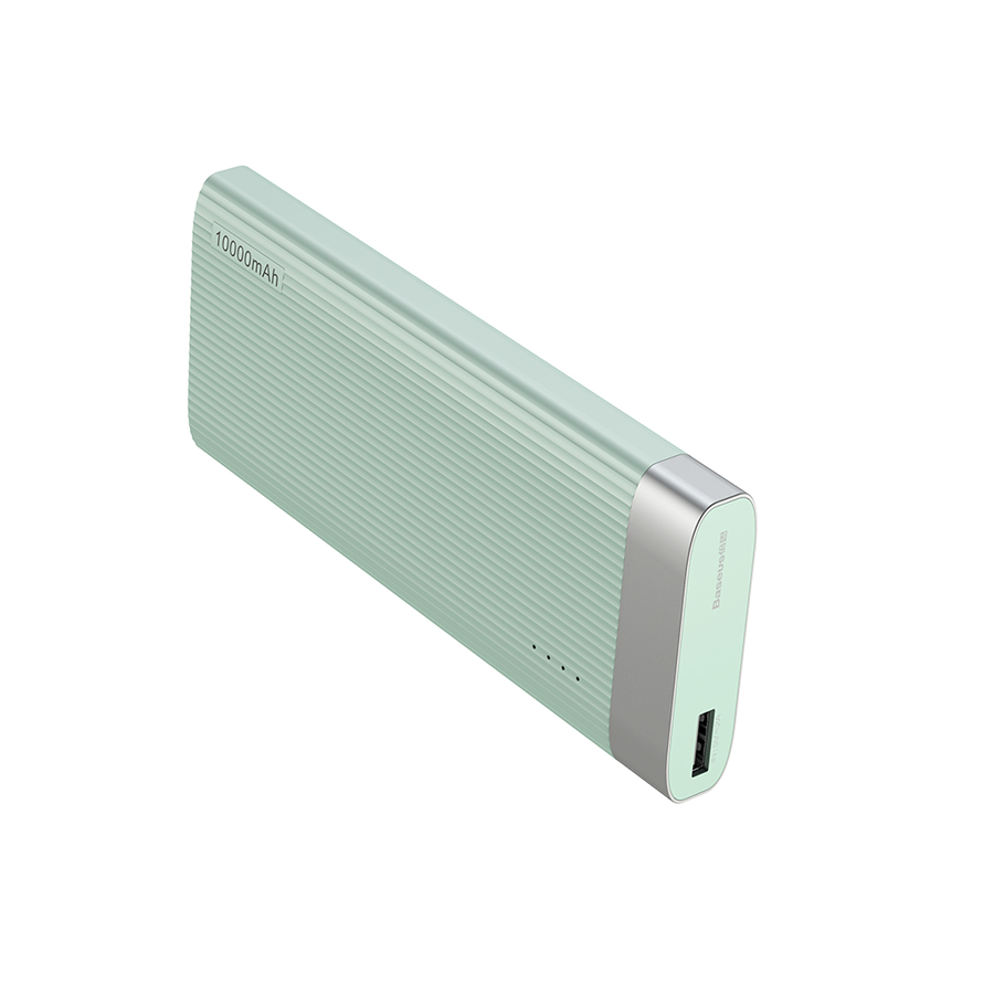 Powerbank Baseus Parallel Line Portable 10000 mAh miętowy