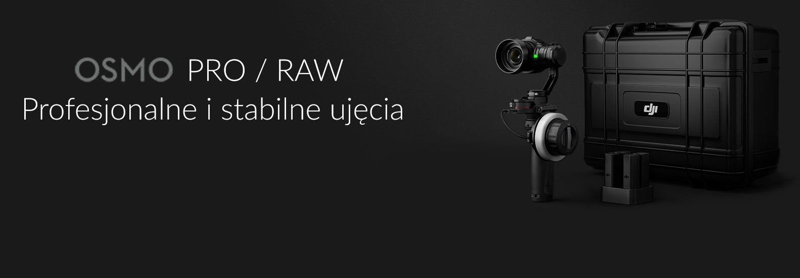 DJI OSMO RAW + COMBO KIT